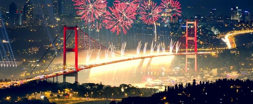 Почивка НОВА ГОДИНА 2019 <br> в Истанбул <br> 3 нощувки с нощен преход от 28.12.2018 - <font color=green> ПРОМОЦИОНАЛНИ ЦЕНИ ВАЛИДНИ ЗА ЗАПИСВАНИЯ ДО 15.11.2018</font>